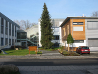Biotechbuilding on the Campus of the University of Mainz
